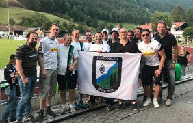 Testspiel in Rottach-Egern gegen Augsburg im Juli 2018